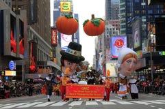 Jour Prade de l'action de grâces de Macy Photos libres de droits