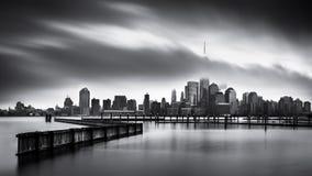 Jour sombre pour le secteur financier photos stock