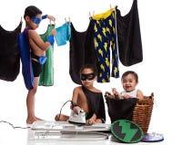 Jour superbe de lavage Photo libre de droits