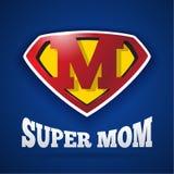 Jour superbe du ` s de Logo Design For Mother de maman Photographie stock libre de droits