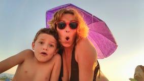 Jour sur la plage photos libres de droits