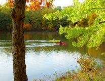 Jour tranquille d'automne Photos stock