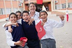 Jour turc de République Photographie stock libre de droits