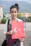 Jour turc de République Images libres de droits