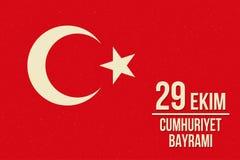 Jour Turquie de République Photo stock