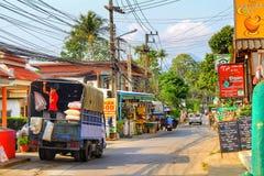 Jour typique en Koh Chang photos libres de droits