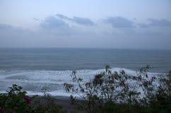 Jour venteux Taïwan de parc de bord de la mer de Taitung image stock