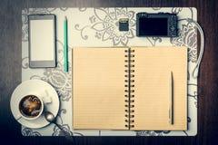 Jourey planning concept. Stock Photography