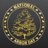 Journée de l'arbre nationale Images stock