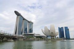 Journée de Marina Bay Photographie stock libre de droits