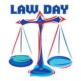Journée du droit Photo stock