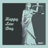 Journée du droit Image stock