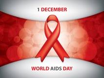 Journée mondiale contre le SIDA Images stock