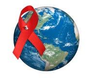 Journée mondiale contre le SIDA Images libres de droits