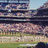 Journée 'portes ouvertes' de Red Sox 2015 Images stock