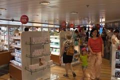Journée 'portes ouvertes' sur l'esprit de Stena de ferry. Photos stock