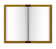 Journal book. Blank journal book organizer to write on Royalty Free Stock Image