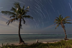 Journal d'étoile à l'île de tidung Image libre de droits