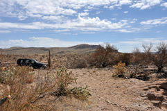 Journal d'Apache avec le véhicule photo libre de droits