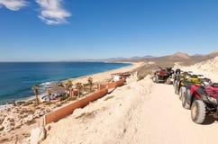 Journal d'ATV dans Los Cabos, Mexique Photos libres de droits