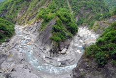 Journal de Buluowan d'â de gorge de Taroko Photos stock