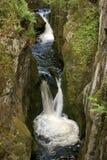 Journal de cascades à écriture ligne par ligne d'Ingleton Photo libre de droits