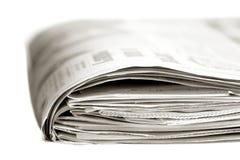 Journal de dimanche photographie stock libre de droits