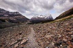 journal de hausse de montagne Photographie stock