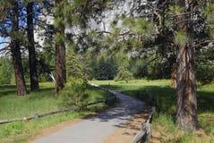 Journal de hausse en vallée de Yosemite photo stock