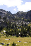 Journal de région sauvage du Montana Photos stock