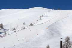 Journal de ski photo stock