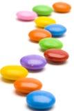 Journal de sucrerie de couleur Photos stock