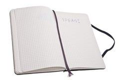 Journal of Ideas Stock Photos