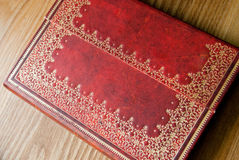 Journal intime en cuir Images stock