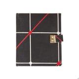 Journal intime très vieux avec la serrure Photographie stock