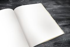 Journal Mock up Template Stock Photos