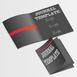 Journal template vector Royalty Free Stock Images