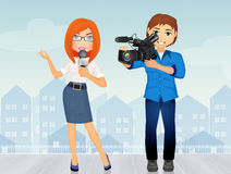 Journalism service Stock Photography