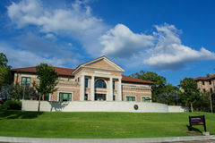 Journalismus-Gebäude an LSU Stockbild