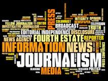 Journalist royalty-vrije illustratie