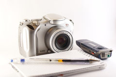 Journalist's tools Royalty Free Stock Photo