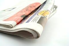 Journaux Photographie stock libre de droits