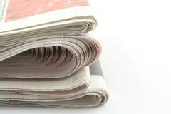 Journaux Images libres de droits