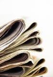 Journaux Photographie stock