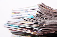 Journaux Photos libres de droits