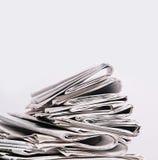 Journaux Photo stock