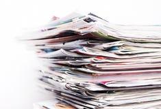 journaux Image stock