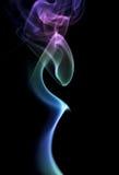 Journaux abstraits de fumée Photos libres de droits