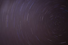 journaux d'étoile de ciel de nuit photo stock