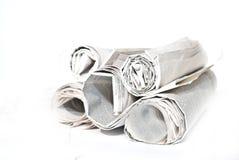 journaux d'affaires images stock
